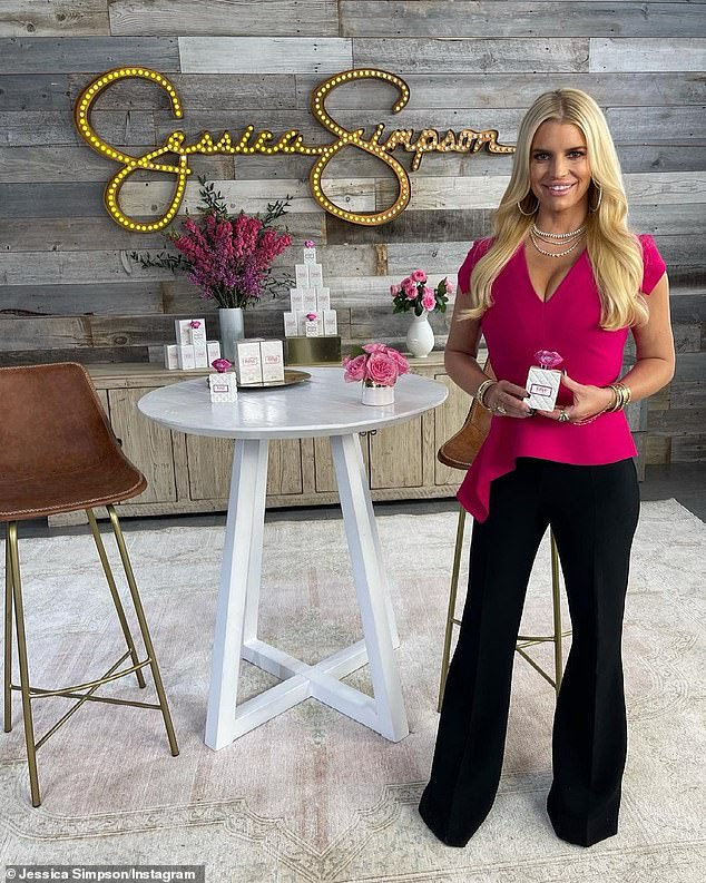 Jessica Simpson bid $65M in a last ditch effort to buy back her 16-year-old brand the day before its licensing company filed for Chapter 11 bankruptcy protection Tuesday (pictured March 31)