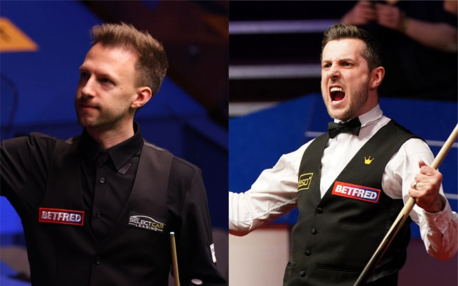 Judd Trump and Mark Selby