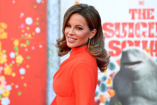 Kate Beckinsale at the The Suicide Squad film premiere/