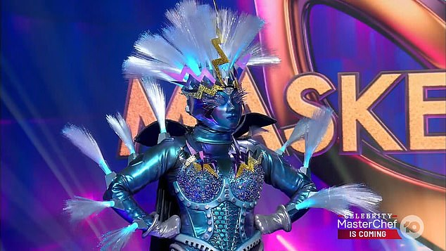 Who is behind the mask?Lightning on The Masked Singer Australia is REVEALED... and all the judges guessed wrong