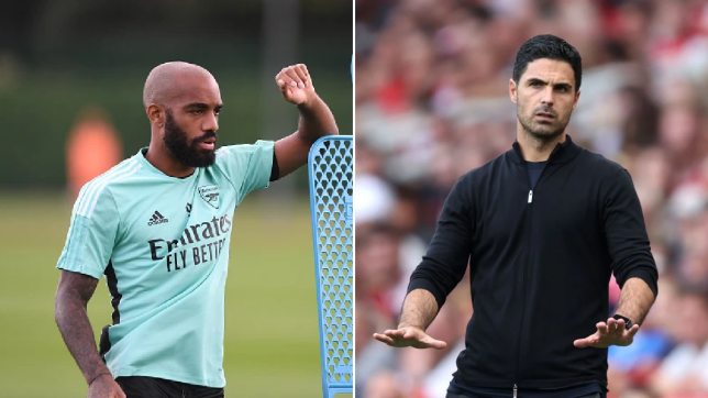 Arteta thinks Lacazette is going to be 'instrumental in our success.'