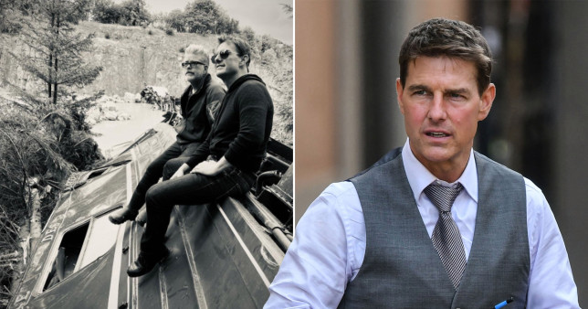 Tom Cruise and Mission: Impossible director Christopher McQuarrie