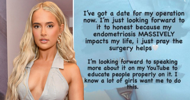 Molly Mae Hague gets a date for endometriosis surgery
