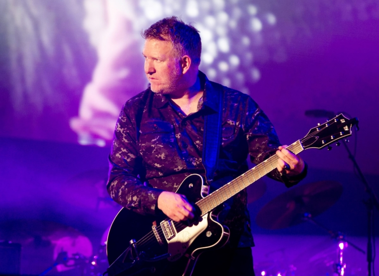 New Order Perform At Heaton Park, Manchester MANCHESTER, ENGLAND - SEPTEMBER 10: Phil Cunningham of New Order performs at Heaton Park on September 10, 2021 in Manchester, England. (Photo by Shirlaine Forrest/WireImage)