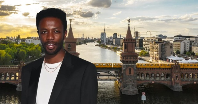 On the road with: It's a Sin's Omari Douglas on falling in love with Berlin's 'humility' and upsetting a New York waiter