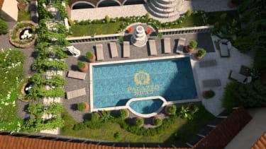 Palazzo Ricci pool