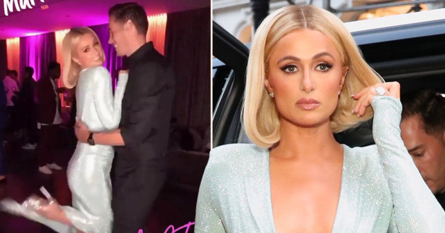 Paris Hilton engagement party