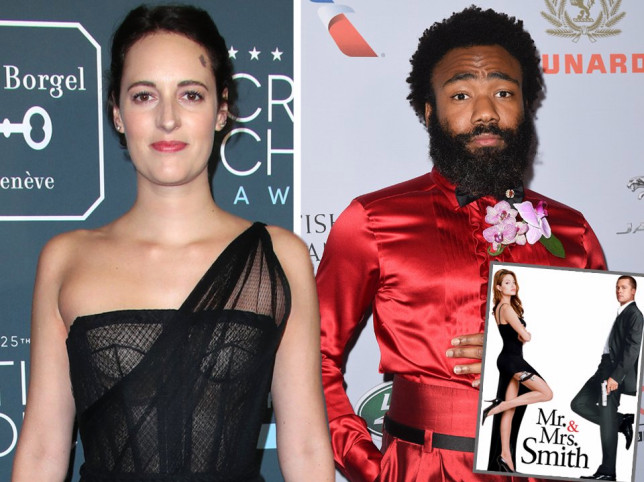 Donald Glover and Phoebe Waller Bridge for Mr and Mrs Smith project, my GOD