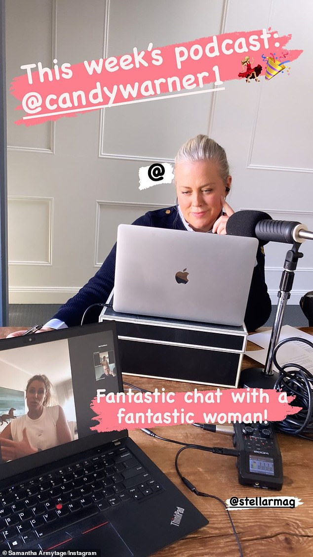 She's just like us! Samantha Armytage proved she is just like the rest of us in lockdown when she appeared to reveal some regrowth in a picture on her Instagram stories this week