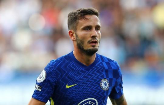 Saul Niguez struggled on his Chelsea debut last weekend