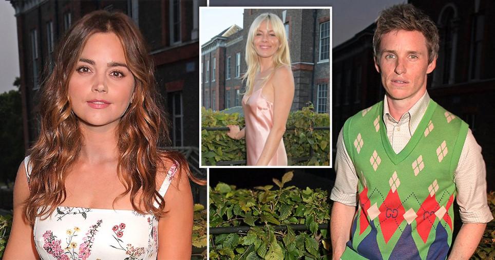 Sienna Miller, Jenna Coleman and Eddie Redmayne attend the ATG Summer Party