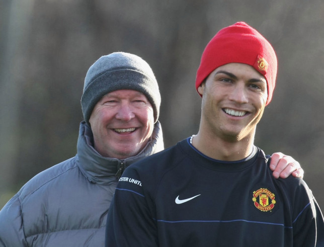 Sir Alex Ferguson used the influence of Cristiano Ronaldo to help complete the signings of Rafael And Fabio da Silva