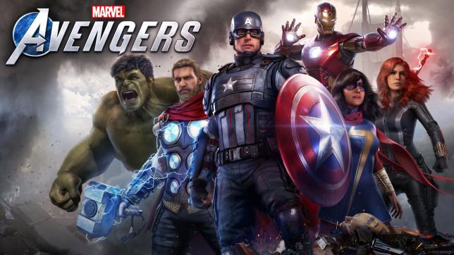 Marvel's Avengers key art