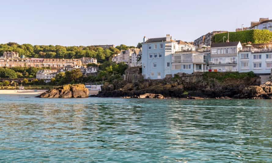 Hidden gem: the Pedn Olva, which has commanding views over St Ives.