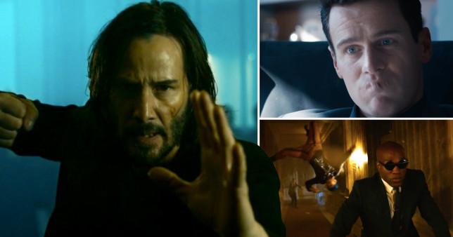 The Matrix Resurrections: Teaser footage reveals Keanu Reeves? return as Neo - credit : warner bros