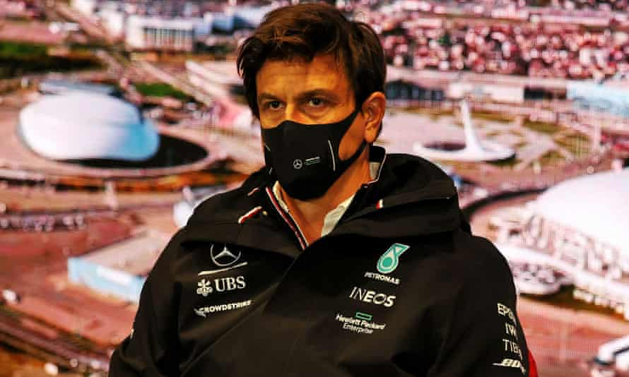 Toto Wolff at the Russian Grand Prix