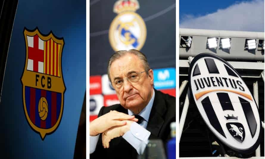 Barcelona, Real Madrid and Juventus are actively supportive of the court action.