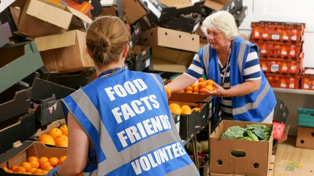 The cut could force more people to food banks (file photo)