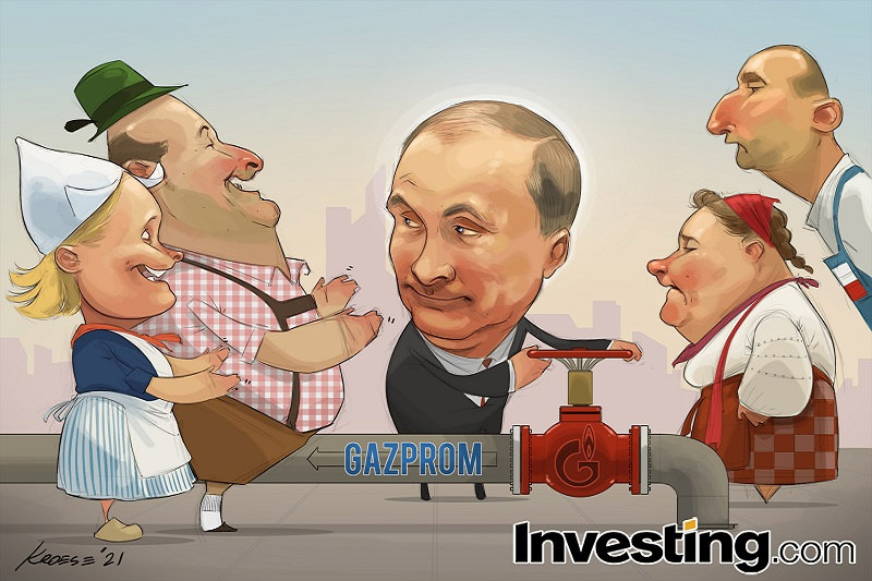 Weekly Comic: Putin's Pipe Brings Relief to Europe's Gas Markets - But Not Yet