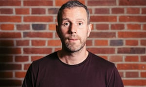 Football Weekly: Max Rushden, photographed for The Guardian, 22/05/2018.