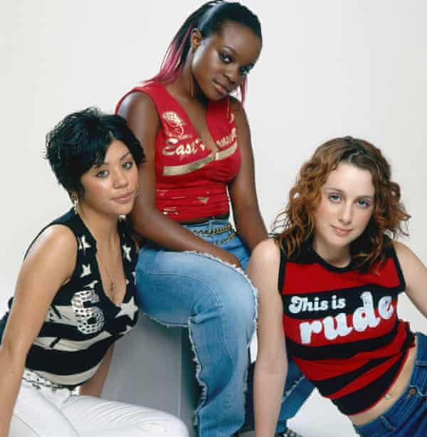 'We crossed boundaries' … Mutya Buena, Keisha Buchanan and Siobhán Donaghy in early 2001.