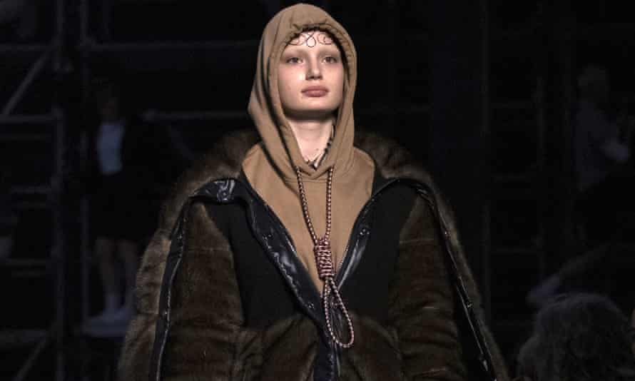 Burberry apologised for the 'insensitive' hoodie, modelled by Liz Kennedy at London fashion week, in February, 2019.