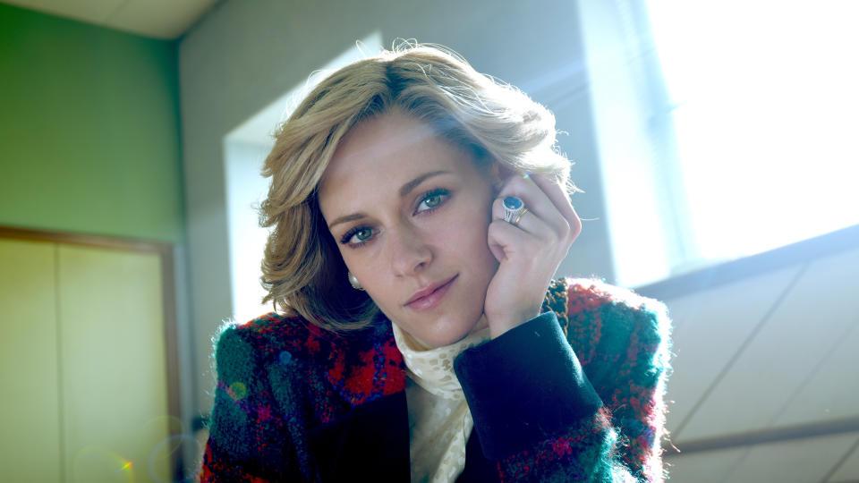 Kristen Stewart plays Princess Diana in new biopic film 'Spencer'. (STX Films)
