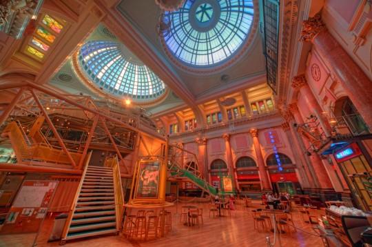 Manchester Royal Exchange Theatre Interior England UK