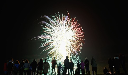 The Skinningrove Bonfire And Fireworks Night Features The Fishing Industry