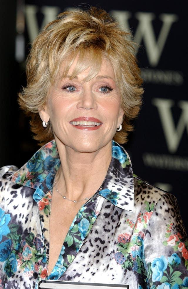 Book Launch – Jane Fonda – Waterstone's – Picadilly