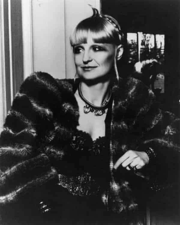 Biba founder Barbara Hulanicki in the 1960s.