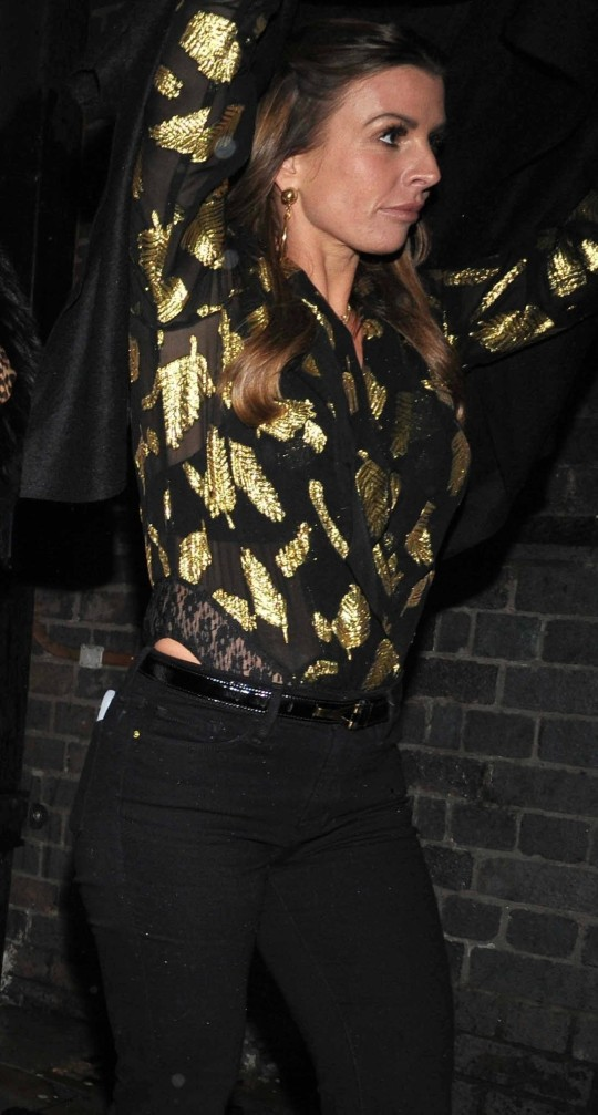 Coleen Rooney on night out