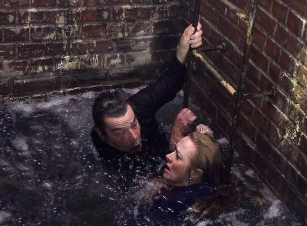 Corrie's Corey and Abi during Super Soap Week