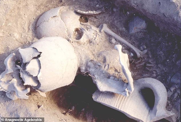 The warrior was probably 35 or 40 when he was beheaded by invading Ottomans. His decapitated head was buried with the remains of a five-year-old girl, likely in secret