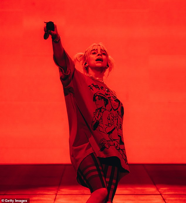 Almost canceled: The pop star revealed she almost pulled out of the Austin City Limits Festival show out of protest of the Texas abortion ban, adding,'But then, I remembered that it's you guys that are the f*****g victims, and you deserve everything in the world'