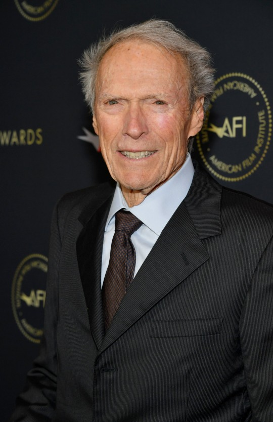 Director-producer Clint Eastwood