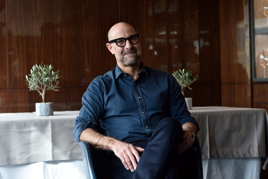 Mandatory Credit: Photo by Pool/Ipa/REX/Shutterstock (9354635f) Stanley Tucci 'Final Portrait' film photocall, Rome, Italy - 05 Feb 2018