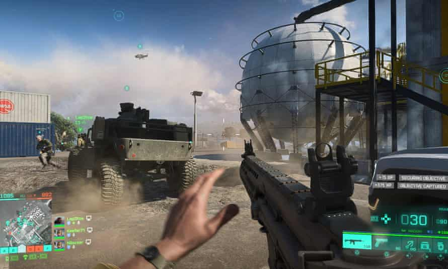 Battlefield 2042 action