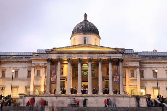 England, London, Trafalgar Square, National Gallery