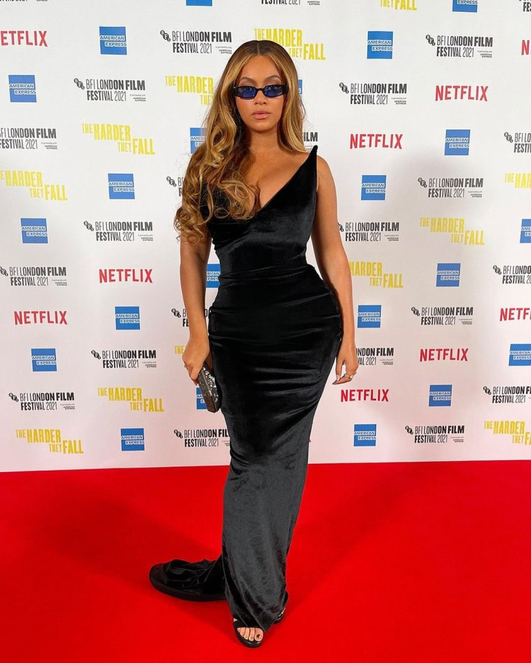 Beyonce and Jay Z at London Film Festival