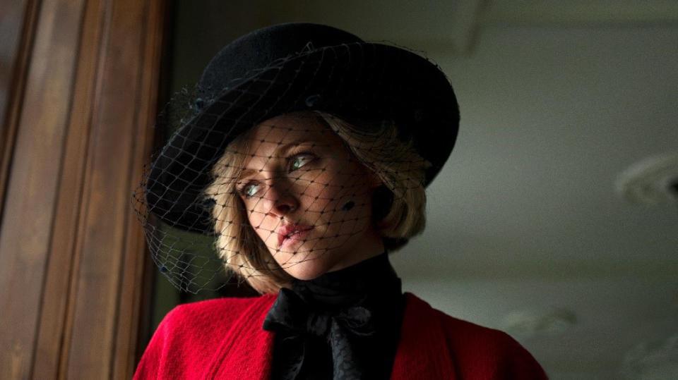 Kristen Stewart is fantastic as Princess Diana in 'Spencer'. (STX Films)