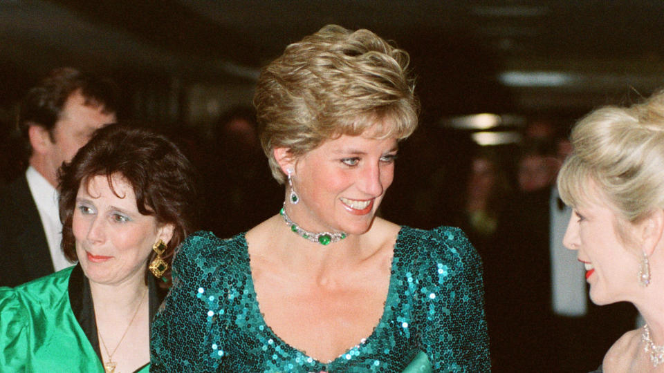 'Spencer' follows Princess Diana during the Christmas of 1991. (Kent Gavin/Mirrorpix/Getty Images)