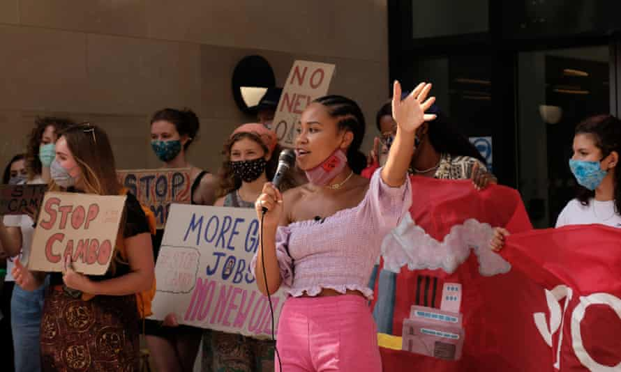 Mikaela Loach, 23, student and climate justice activist.