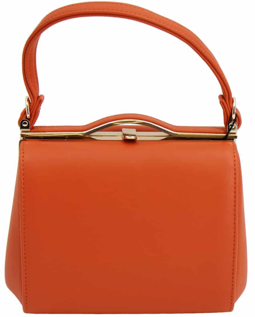 Thrift it Orange bag Revival Vintage