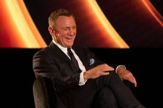 Mandatory Credit: Photo by Agne Bekeraityte/BAFTA/REX (12463290ar) Daniel Craig BAFTA: A Life in Pictures, Daniel Craig, supported by TCL, London, UK - 24 Sep 2021