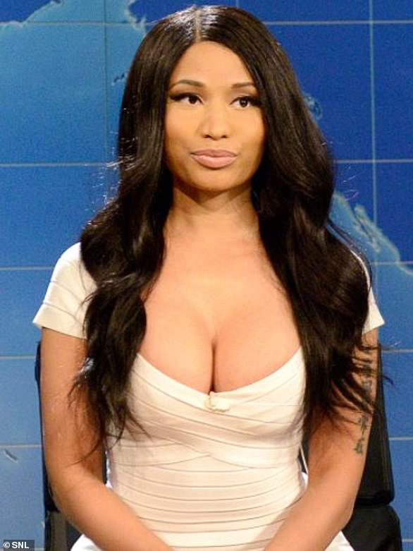 Nicki Minaj as Kim Kardashian (2014)
