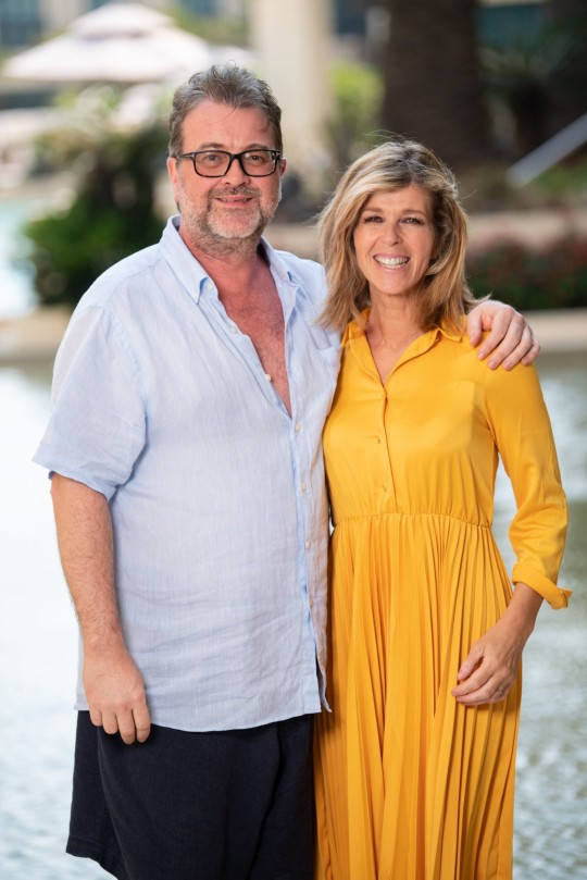 Derek Draper and Kate Garraway 'I'm a Celebrity... Get Me Out of Here!' in 2019