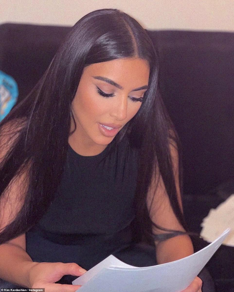 Friendly: Her estranged husband Kanye West, 44, reportedly advised Kim ahead of her SNL appearance this weekend