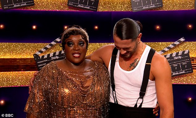 Chicago:Loose Women star Judi, 41, and Graziano, 27, performed a Charleston to When You're Good to Mama from Chicago
