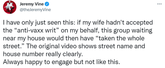 Jeremy Vine tweet
